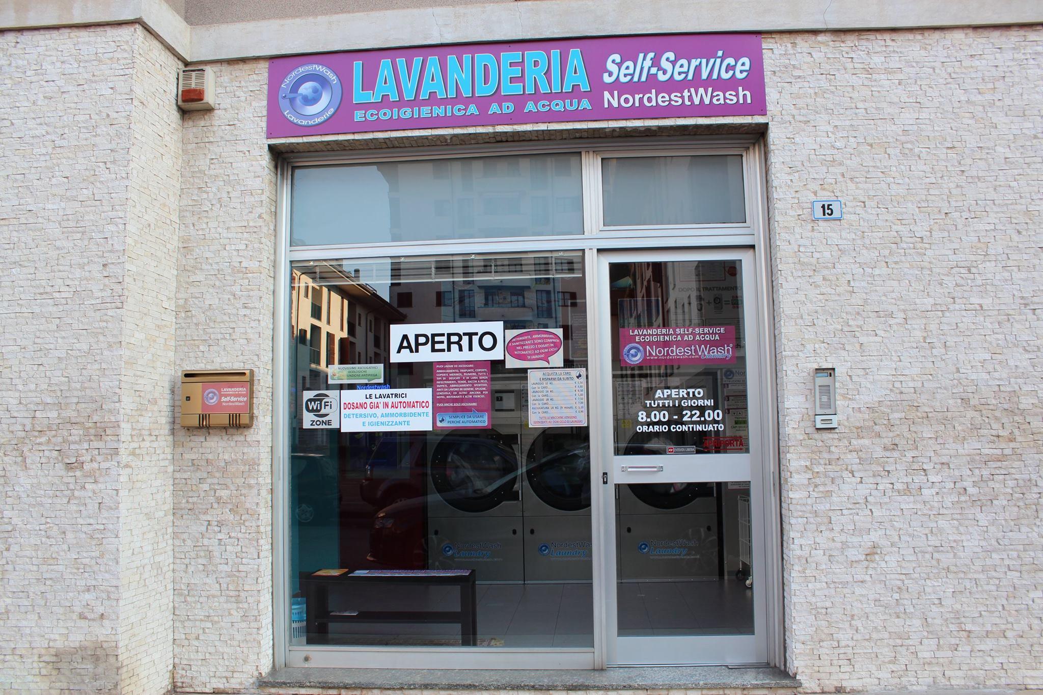 Lavanderia self service nordestwash bollate milano for Lavanderia self service catania